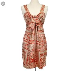 Anthropologie Hype Silk Dress